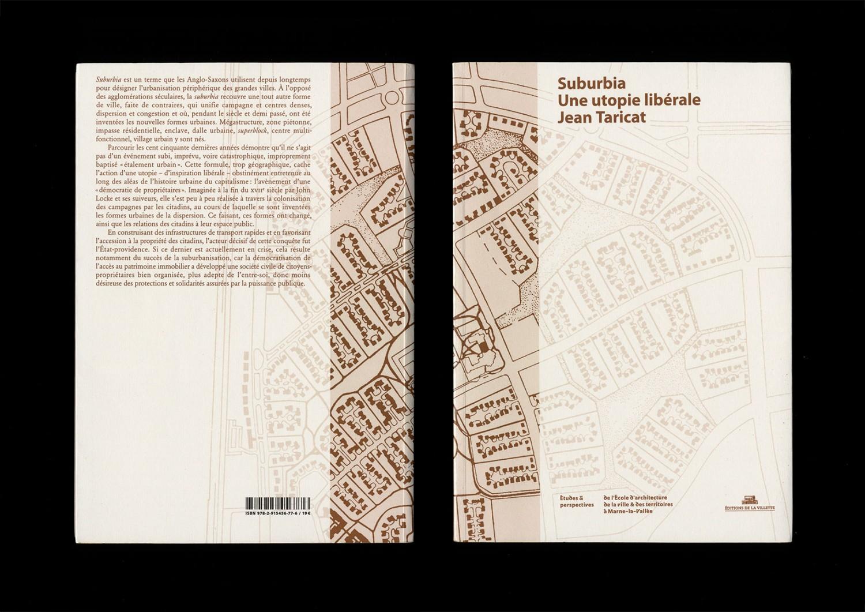 <p><em>Suburbia, une utopie libérale</em>, Collection : Etudes et perspectives. Photo © Building Paris.</p>